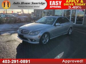 2010 MERCEDES C300 4MATIC AWD