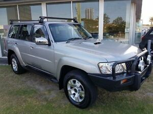 2009 Nissan Patrol GU 6 MY08 ST Grey 4 Speed Automatic Wagon Southport Gold Coast City Preview