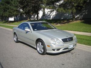 2002 Mercedes CL 600 Designo Coupe (2 door)