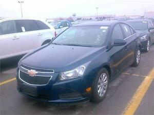2011 CHEVROLET CRUZE LT 1.4L 4 CYL LOW PRICE EASY FINANCING