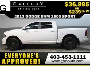 2013 DODGE RAM SPORT CREW *EVERYONE APPROVED* $0 DOWN $239/BW!