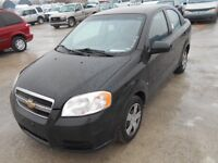 2009 Chevrolet Aveo Ls Sedan Certified Ready to go $5,995+taxes