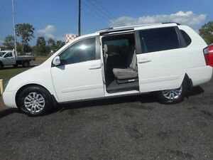 2010 Kia Grand Carnival VQ EXE White 5 Speed Sports Automatic Wagon Winnellie Darwin City Preview