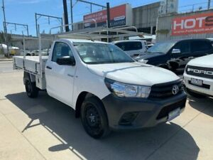2015 Toyota Hilux TGN121R Workmate 4x2 White 5 Speed Manual Cab Chassis Granville Parramatta Area Preview