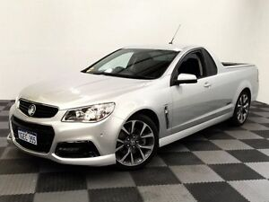2013 Holden Ute VF MY14 SS Ute Silver 6 Speed Manual Utility Edgewater Joondalup Area Preview