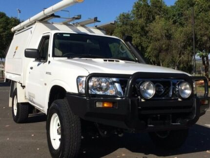 2012 Nissan Patrol MY11 Upgrade DX (4x4) 5 Speed Manual Leaf Cab Chassis