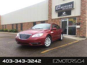 2011 Chrysler 200 Touring=LOW KMS=HEATED SEATS=3.6L!!=WARRANTY