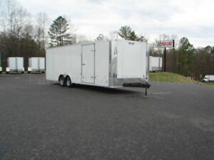 24' ENCLOSED PRO TRAILERS