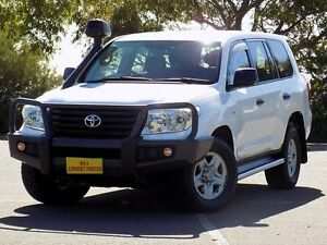 2014 Toyota Landcruiser VDJ200R MY13 GX White 6 Speed Sports Automatic Wagon Blair Athol Port Adelaide Area Preview