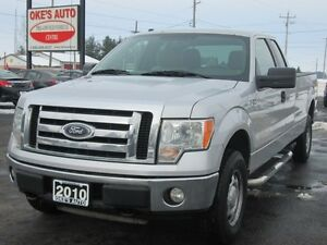 2010 Ford F-150 SuperCab 8-ft. Bed 4WD