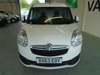 Vauxhall Combo L1 H1 2000 1.3 16V SPORTIVE START STOP EURO 5 DIESEL WHITE (2013)