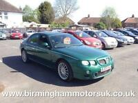 2003 (03 Reg) MG ZT 2.5 190 + 4DR Saloon GREEN + 1 OWNER