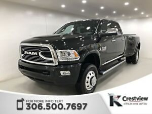 2017 Ram 3500 Limited Crew Cab DRW | Heated and Ventilated Seats