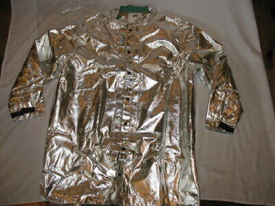 Steel Grip Apb 5612-40 Long Aluminized Jacket Pflame Resistant Rayon 2xl