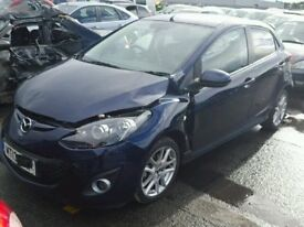 2013 MAZDA 2 SPORT 1.5 PETROL BREAKING FOR SPARES PARTS