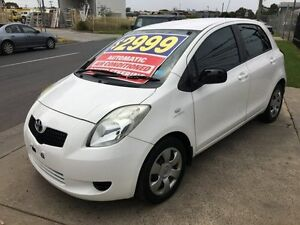 2007 Toyota Yaris NCP90R YR 4 Speed Automatic Hatchback Brooklyn Brimbank Area Preview
