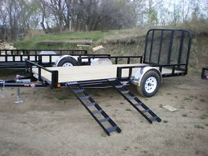 Automan Trailers has New - ATV - Quad - Side-x-side Trailers