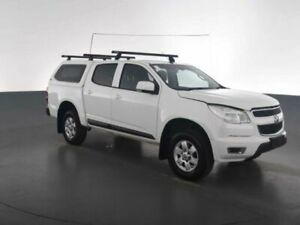 2016 Holden Colorado RG MY16 LT CREW CAB 4X2 White Sports Automatic Dual Cab Utility Geebung Brisbane North East Preview