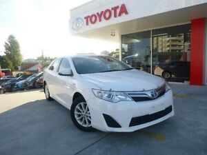 2013 Toyota Camry AVV50R Hybrid H Diamond White Continuous Variable Sedan Allawah Kogarah Area Preview