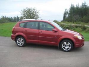2005 Pontiac Vibe All Wheel Drive