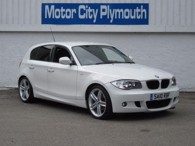 2010 10 bmw 1 series 2 0 116i m sport 5d 121 bhp in plymouth devon gumtree. Black Bedroom Furniture Sets. Home Design Ideas