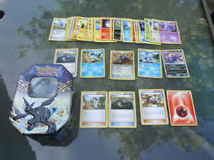 45 Pokemon Cards with Container