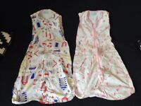 Sleeping Bags 18-36 months, (2 available) Gro-Bag, 0.5 Tog