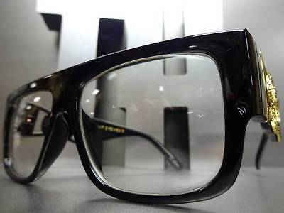New OLD SCHOOL VINTAGE RETRO HIP HOP SWAG PIMP CLUB PARTY Clear Lens EYE (Swag Glasses)