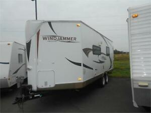 WOW!!!  Rockwood 21' V Front Trailer with King Rear Slide!