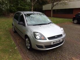 2008 08 Ford Fiesta Style Climate 1.4 TDCi Silver. Only £30 to tax for the year!