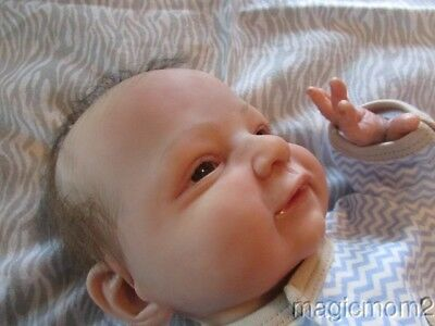 Marc Realistic Reborn Baby Doll 1/2 of Marc & Mary Twins