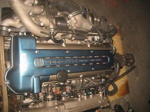 97 01 TOYOTA SUPRA 2JZ TWIN TURBO VVTI ENGINE SWAP JDM 2JZGTE