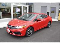 2014 Honda Civic Coupe EX $133/Biweekly Tax in $0 DOWN!