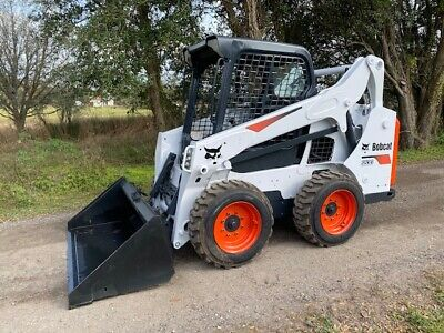2014 Bobcat S530 Skid Steer Loader New Tires And Bucket
