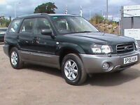 SUBARU FORESTER 2.0X ALL WEATHER 5 DOOR ESTATE GREEN/SILVER 1 OWNER IMMACULATE 1 YEARS MOT