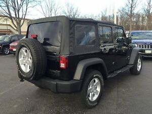 07-17 Jeep Wrangler soft top
