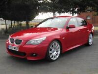 2009 BMW 530 D M SPORT 3.0 TD DIESEL AUTOMATIC 1 OWNER & FSH FULL LEATHER £8999