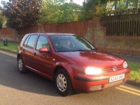 Volkswagen Golf SE, 1.6 Petrol, Low Mileage, New MOT, 5 door Hatchback.