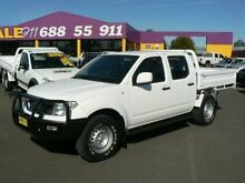 2012 Nissan Navara D40 MY12 RX (4x4) White 6 Speed Manual Dual Cab Pick-up Dubbo 2830 Dubbo Area Preview