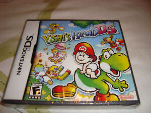 DS YOSHI'S ISLAND BRAND NEW AND SEALED