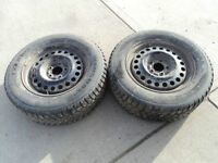 2 Marshal Tires with Rims 225/60/16