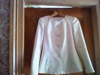 Marks and Spencer gold coloured jacket, AS NEW - size 8 - see ad for measurements