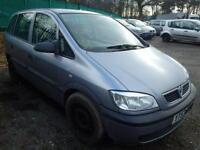 Vauxhall Zafira 1.6 16V Bonnet In Grey Breaking For Parts (2003)