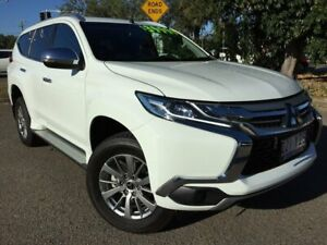 2018 Mitsubishi Pajero Sport QE MY19 GLX White 8 Speed Sports Automatic Wagon Townsville Townsville City Preview