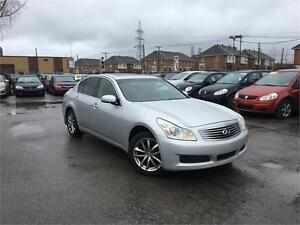 INFINITI G35X 2007 AUTO/AWD/AC/MAGS/CUIR/TOIT OUVRANT !!