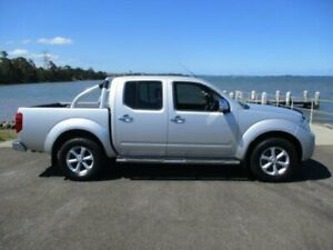 2013 Nissan Navara D40 MY12 ST-X (4x4) Silver 7 Speed Automatic Dual Cab Pick-up Dapto Wollongong Area Preview