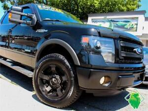 PRICE DROP! '13 Ford F-150 FX4+NAV+Lthr+BackCam+4X4! $215/Pmts!