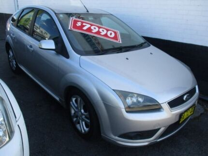 2008 Ford Focus LT Zetec Silver 4 Speed Sports Automatic Hatchback Broadmeadow Newcastle Area Preview