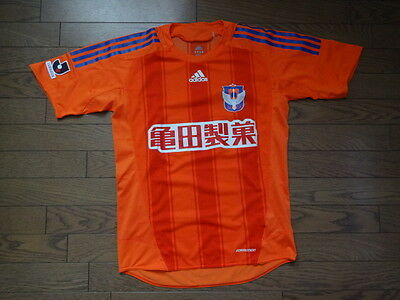 Albirex Niigata 100% Official Soccer Jersey 2008 J League L Japan MINT Formotion image