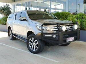 2016 Toyota Hilux SR5 Silver 6 Speed Automatic Dual Cab